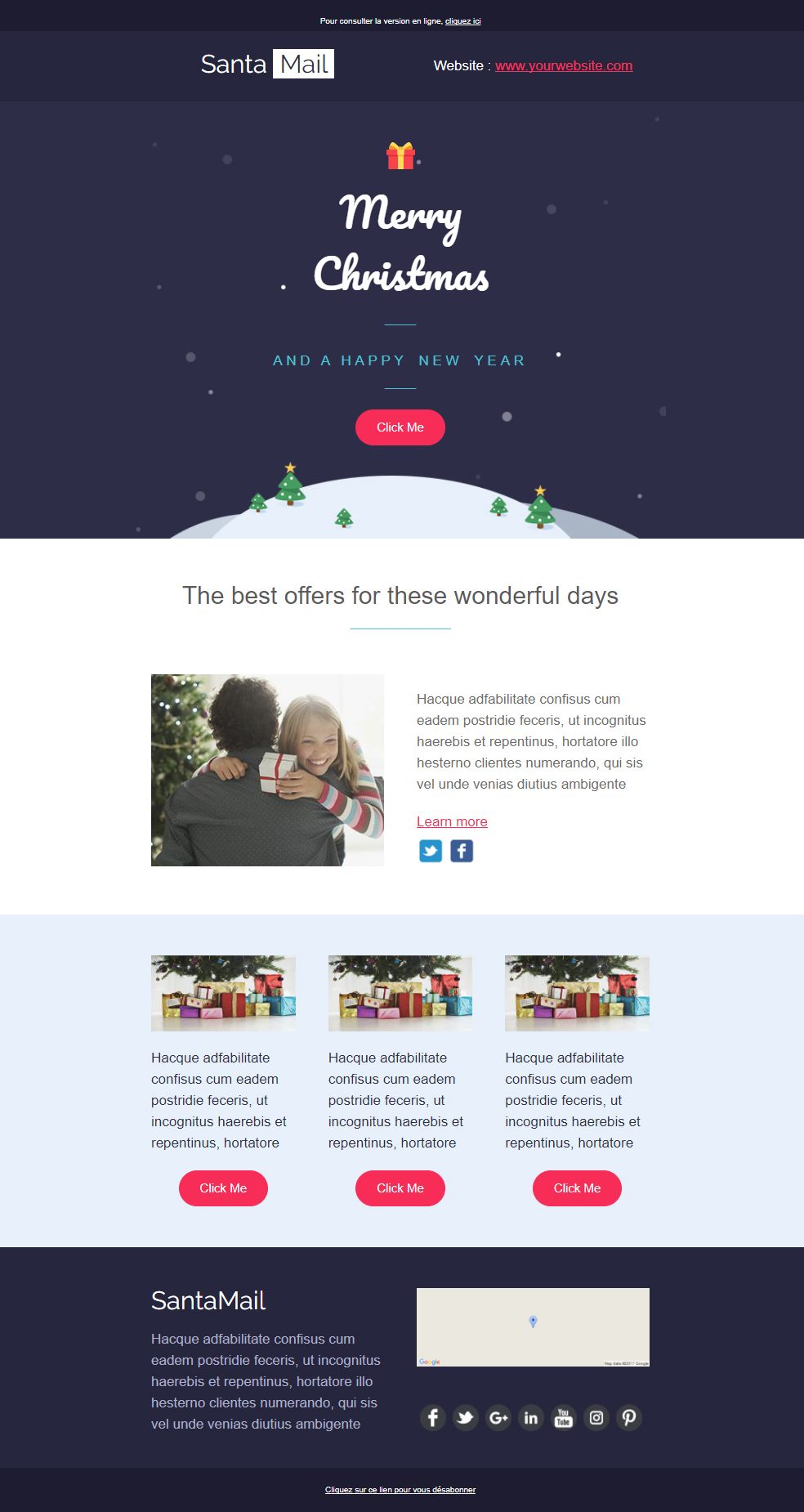 Chrtsimas newsletter template