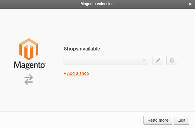 How to add a Magento shop in Mailify