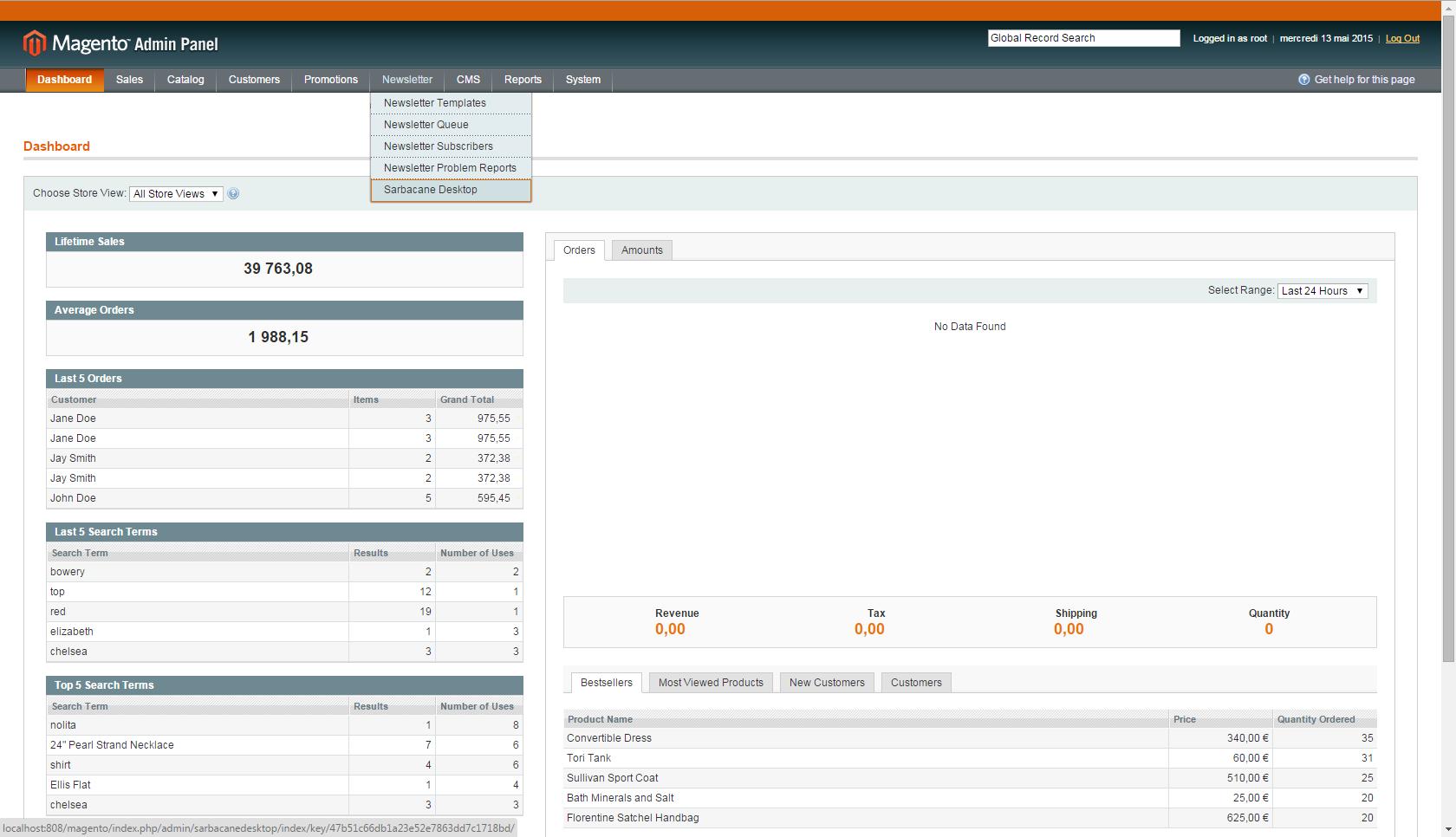 The Magento Admin Portal